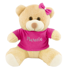 Pelucia personalizada para decoracao cha de bebe, cha de fraldas ou presente para recem-nascido
