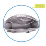 Bolsa Maternidade Buba – detalhe bolso interno com ziper
