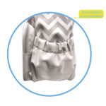 Bolsa Maternidade Buba – detalhe bolsos laterais