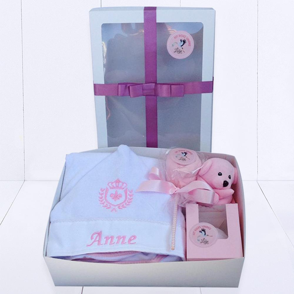Kit Bebê Empresas – boas-vindas – meninas