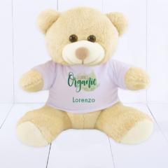 Presente corporativo para bebê - urso pelúcia personalizado com logo