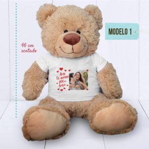 Presente criativo para namorado - ursinho com foto