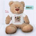 Urso Grande (Ursinho feliz) – CAMISETA personalizada com foto – com regua – MODELO 2