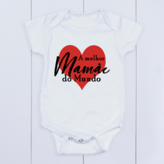 Body bebê Dia das Mães