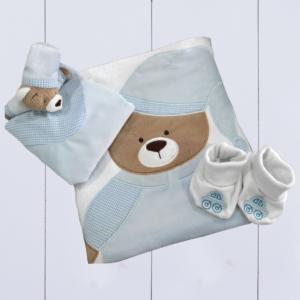Kit presente bebê para empresas meninos