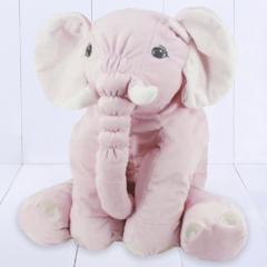 Presente para bebê menina - elefante de pelúcia gigante para bebê dormir