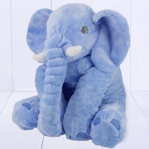 presente para bebê - travesseiro elefante de pelúcia gigante