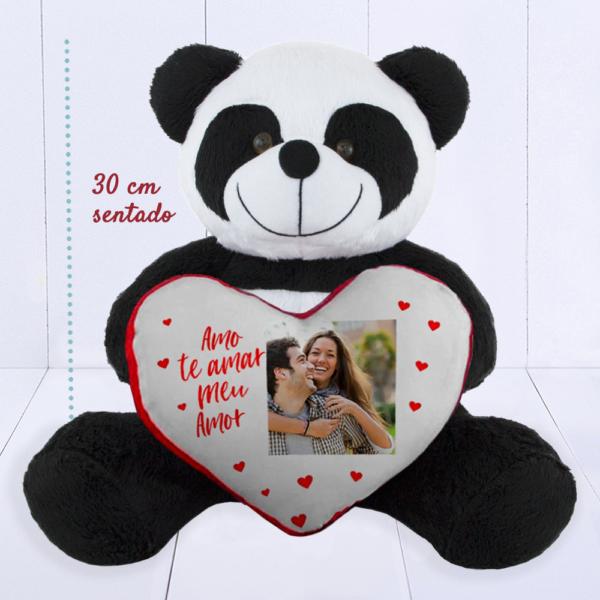 Panda Toybrink com Coracao – com foto