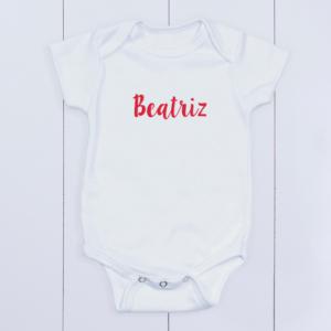 Bory bebê personalizado com nome