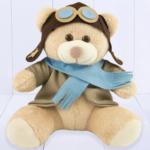 Presente para bebê menino - ursinho aviador